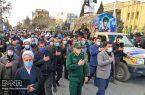تشییع شهید فتح الله عابدینی در نجف آباد+تصاویر