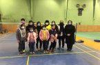 درخشش دختران نجف آباد در بدمینتون استان+تصاویر