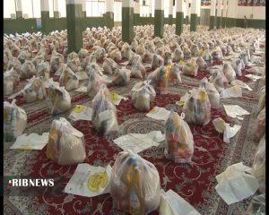توزیع بسته معیشتی توزیع ۳۰۰میلیون بسته های معیشتی در مساجد نجف آباد توزیع ۳۰۰میلیون بسته های معیشتی در مساجد نجف آباد                                  300x240