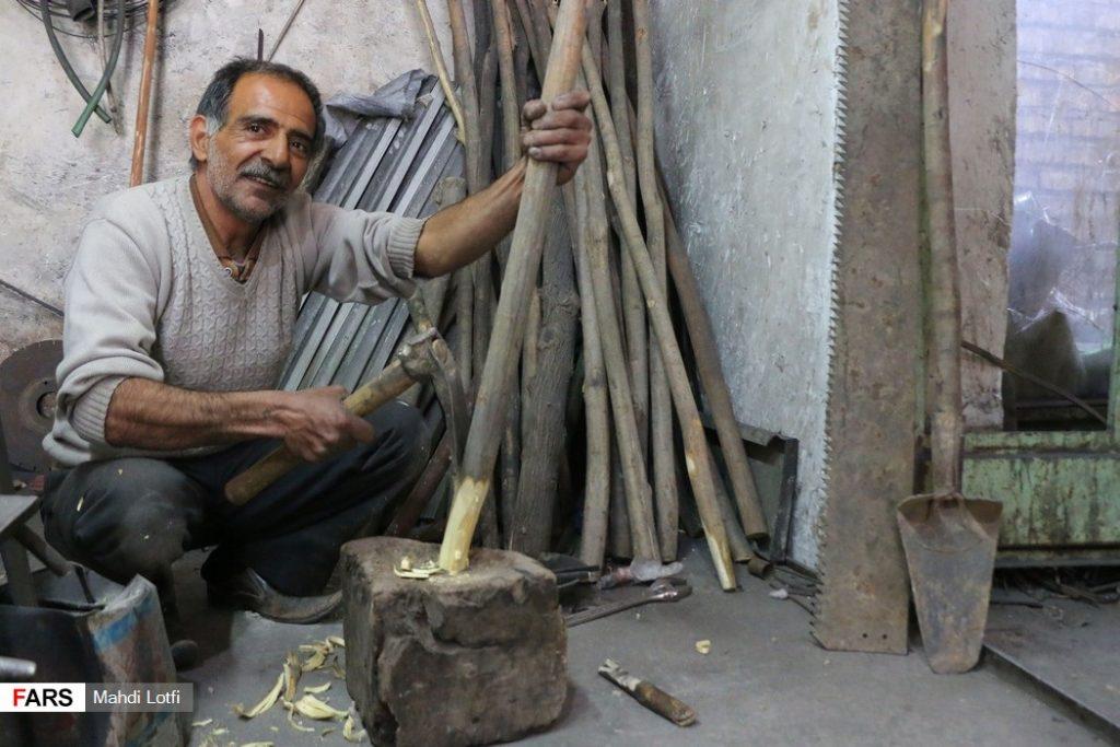 ساخت دسته بیل مشاغل سنتی نجف آباد+تصاویر مشاغل سنتی نجف آباد+تصاویر                            1024x683