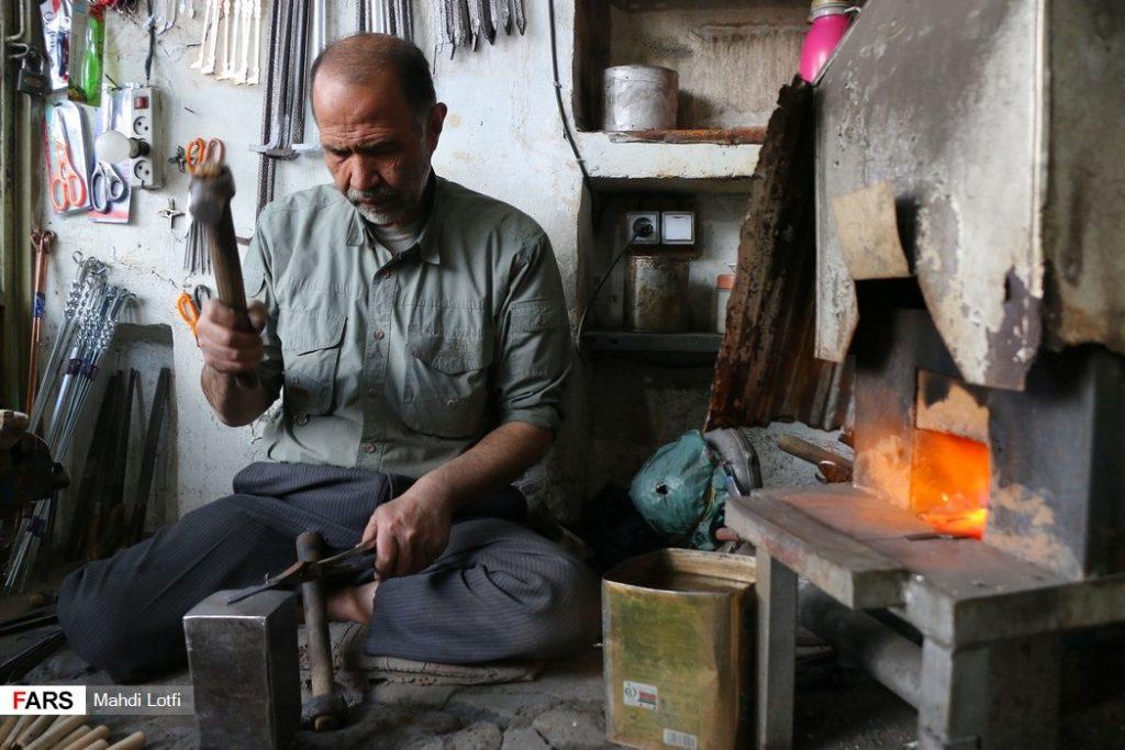ساخت تیغ قالی بافی مشاغل سنتی نجف آباد+تصاویر مشاغل سنتی نجف آباد+تصاویر                                   1024x683