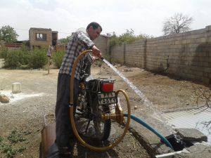 ساخت پمپ آب سیار و غیر برقی در نجف آباد توسط حمید یوسفی ساخت پمپ آب سیار و غیربرقی در نجفآباد+فیلم و تصاویر ساخت پمپ آب سیار و غیربرقی در نجفآباد+فیلم و تصاویر                               300x225