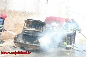 آتش گرفتن خودروی گازسوز شده در نجف آباد آتش گرفتن خودروی گازسوز شده در نجف آباد+تصاویر آتش گرفتن خودروی گازسوز شده در نجف آباد+تصاویر 1618637128 P0fE7 300x200