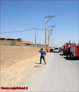 آتش گرفتن خودروی گازسوز شده در نجف آباد آتش گرفتن خودروی گازسوز شده در نجف آباد+تصاویر آتش گرفتن خودروی گازسوز شده در نجف آباد+تصاویر 1618637134 P7oK4 258x300